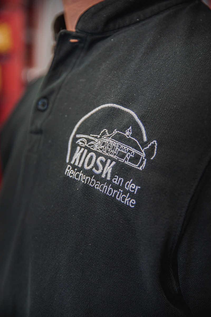 Kiosk an der Reichenbachbrücke Hemd